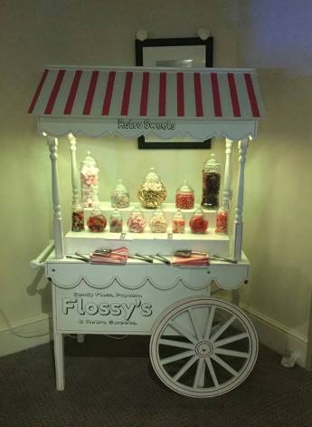 Birthday Party Disco Candy Cart